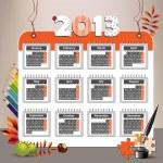 2013 calendar — Stock Vector #16368091