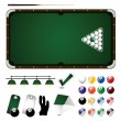 Stock Vector: Billiard icon