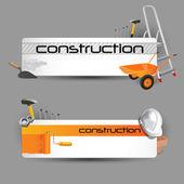 Construction web — Stock Vector