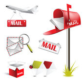 Mail post — Stock Vector