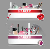 Makeupmakeup set — Stock Vector