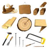 Tree wood — Stock Vector