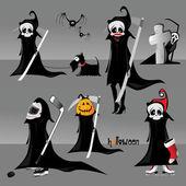 Death halloween — Stock vektor