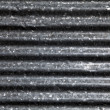 Steel ondulated background — Stock Photo