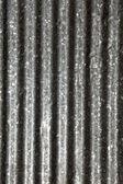 Steel ondulated background — Stockfoto