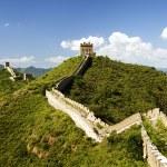 la grande muraglia cinese — Foto Stock #44608619