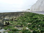 The Seven Sisters near Eastbourne — Stock Photo