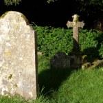 Gravestones in a corner — Stock Photo #12350574