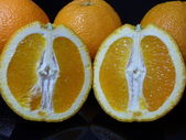 Moitiés orange — Photo