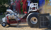 Tractor Pulling at Laughton Cuckoo Fayre, East Sussex — Stock Photo