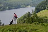 Vyrnwy Reservoir Powis, Wales, UK — Stock Photo