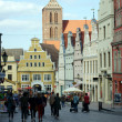 Hanseatic city Wismar — Stock Photo #13287528