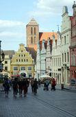 Hanseatic city Wismar — Stock Photo