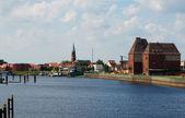 Wittenberge Harbor III — Stock Photo