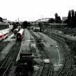 Foto de Stock  : Parking trains