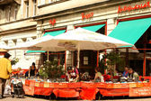 Cafe Tasso in Berlin — Stock Photo