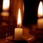 Christmas candles — Stock Photo #18809369