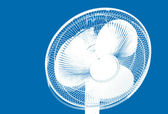 Ventilating fan — Stock Photo