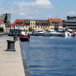 Harbor in Waren — Stock Photo #33206947