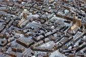 Blind - city model Stralsund — Stock Photo