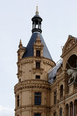 Tower of Schwerin Castle — Stok fotoğraf