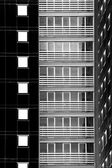 Skyscraper negative — Stock Photo