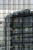 Abstract high rise facade — Stock Photo