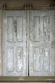 Old sliding door — Stock Photo