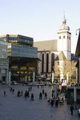 Station square Cologne — Stock Photo