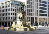 Johannes Gutenberg monument Frankfurt — Stock Photo