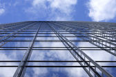 Scaffolding in the sky — Stock Photo