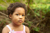 African American girl. — Stock Photo
