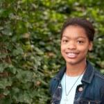 An African-American Girl — Stock Photo