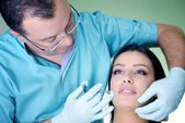 Botox Treatment — Stock Photo