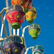 Colourful ferris wheel — Stock Photo #14375663