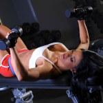 Sexy fitness girl — Stock Photo