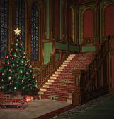 クリスマスの夜に — ストック写真