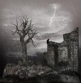 Stormy Night — Stock Photo