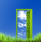 Open door — Stock Photo