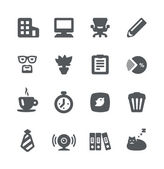 Home office icon set — Stock Vector