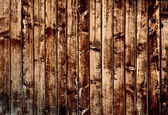 Dark brown planks — Stock Photo