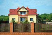 Polski dom — Zdjęcie stockowe