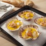 ������, ������: Shrimps and Scallops in Saffron sauce