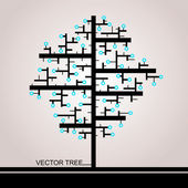 The Tree Of Rectangles — Stock Photo