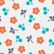 Summer vector seamless pattern — Stock Vector