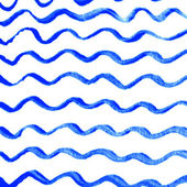 Watercolor wave background — Stock Vector