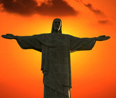 Christ The redeemer - BRAZIL — Stock Photo
