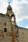 Tower of the Nativity church, Bethlehem — Stock Photo
