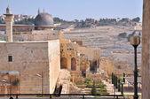 古代公墓在橄榄山。耶路撒冷 — 图库照片