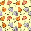Seamless pattern colorful umbrellas — Stock Vector #41786507